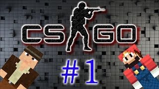 Играем в Counter-Strike Global Offensive (1 серия)