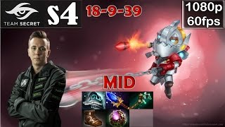 s4 (Secret) - Clockwerk MID Pro Gameplay Dota 2 | Octarine Core | MMR @60fps #2