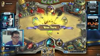 Hearthstone Amaz Playing Ranked and Arena (8 Oct 2015)