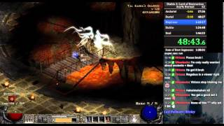 Diablo 2 LoD any% RTA Speedrun Druid 1:37:12