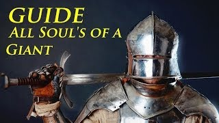 Dark Souls 2 Guide All Soul's of a Giant Location Dark Souls 2  How To Get All Soul's of a Giant