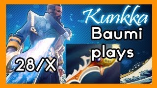 Dota 2 | DIVINE IMMORTAL ROLL OF THE DICE!! | Baumi plays Kunkka