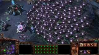 Starcraft 2: Wings of Liberty - Trolling Mirta with Overlords