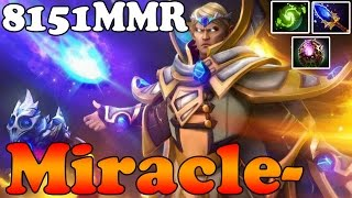 Dota 2 - Miracle- 8151MMR TOP 1 MMR in the World Plays Invoker vol 17 - Ranked Match Gameplay