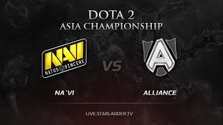 Na`Vi vs The Alliance, DAC 2015 EU Qualifiers, LB Round 3 Game 3