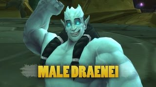 World of Warcraft: Warlords of Draenor Beta - Updated male draenei animations