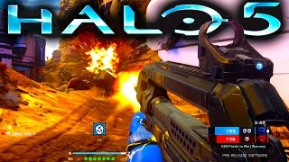 Halo 5 WARZONE GAMEPLAY | Full Match w/ COMMENTARY