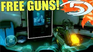 Halo 5 Easter Egg - Weapon Vending Machine! (Halo 5)