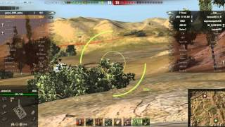 World Of Tanks M8A1 5k expirience [HD]