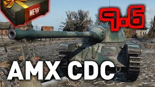 World of Tanks || AMX CDC (Chasseur de Chars) - 9.6 Preview