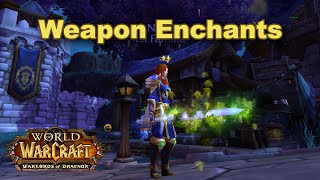 World of Warcraft - Illusion weapon enchants