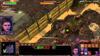 "HYBRIDS - Starcraft 2 Heart of the Swarm Brutal Playthrough Mission ""Infested"""