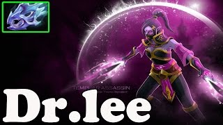 Dota 2 - Dr.lee Plays Templar Assassin - Pub Match Gameplay