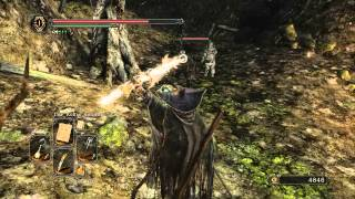 Dark Souls II - Compare Sorceries, Miracles and Hexes spell damage