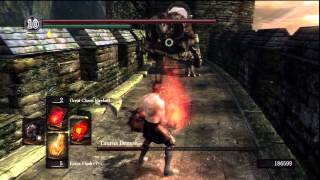 Dark Souls - 2847 Hit - Taurus Demon - Phantom Mid-Air