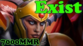 Dota 2 - Exist 7000 MMR Plays Legion Commander - Ranked Match Gameplay
