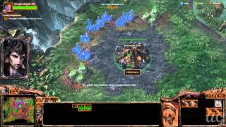 Starcraft 2: Heart of the Swarm - No Commentary Walkthrough 1080p HD Mission 8
