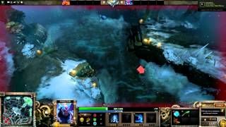 Dota 2 - Лецплей - Mid only - Disruptor vs Lina