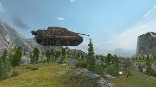 World OF Tanks : Летающие танки =)