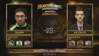 Hearthstone Trump VS Artosis Game 1