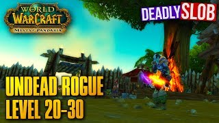 WoW Undead Rogue Leveling Guide - Level 20-30