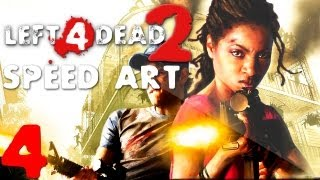 Speed Art-Left 4 Dead 2 Background