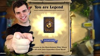 Epic Hearthstone 75 Pack Opening Extravaganza, Gold Legends? OH BABY!!