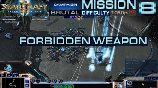 Starcraft 2 Legacy of The Void Campaign Mission 8 Forbidden Weapon Brutal Difficulty HD 1080p