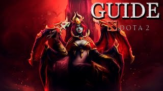 Guide Dota 2 - Queen of Pain (Гайд на Квопу)