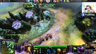 [Dota 2] Purple Dog plays Bristleback