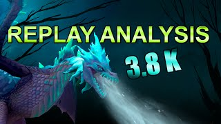 Dota 2 | 3.8K REPLAY ANALYSIS #1 | Winter Wyvern (German)