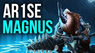 Ar1se Magnus Compilation | Dota 2  Pro Gameplay