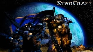 Прохождение StarCraft - Terrans Campaign Gameplay Вступление: Boot Camp