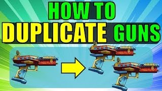 How to Duplicate (Dupe) Items in Borderlands 2