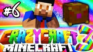Minecraft Mods: CRAZY CRAFT #6 'PANDORAS BOXES!' with Vikkstar