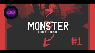 Minecraft: Feed the Beast Monster #1