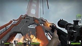 Left 4 Dead 2 Multiplayer Walkthrough Gameplay Day Break Custom Campaign