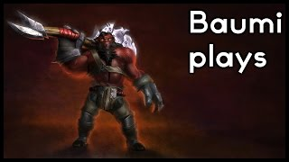Dota 2 | DREAMING OF DUNKS!! | Baumi plays Axe
