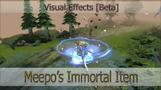 Визуальные эффекты Immortal предмета для Meepo [Visual Effects of Meepo's Immortal Item]