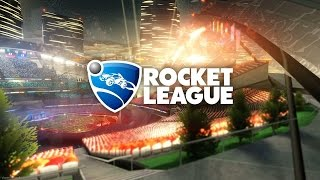Rocket league - Funny Football game football cars (прикольная игра обзор)