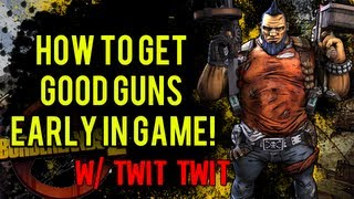 """Borderlands 2"" : FIND GOOD GUNS EARLY IN THE GAME (XBOX360/PC/PS3) [HD]"