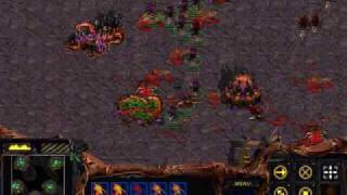 Starcraft Brood War speed run: Zerg missions