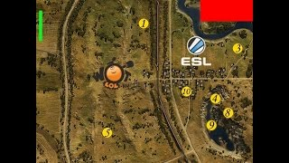 World of Tanks - Esl Wot Race (7-8 уровень). Турнир №49 (05.06.15). Режим Chekpoint. (DeLoN)