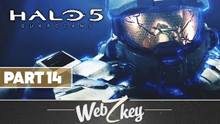 "Halo 5 Guardians Co-op Walkthrough Gameplay Part 14 - Mission 14: ""The Breaking"" (XB1)"