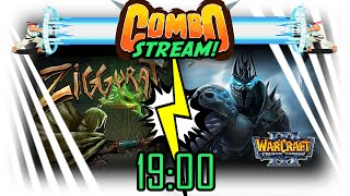 Combo стрим! Warcraft 3 FT + Ziggurat / 19:00 по МСК
