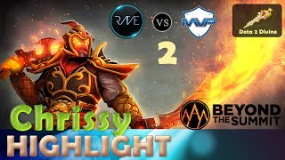 [DOTA 2 HIGHLIGHT] Rave.Chrissy Ember spirit | Rave vs MVP.phx | The summit 3