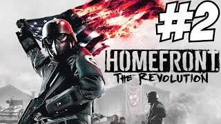 Homefront The Revolution Gameplay Walkthrough Part 2 Story Campaign Let's Play Review PS4 Xbox One