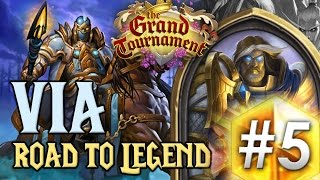 HearthStone : Via - PALADIN SECRET #5 [Road to Legend FR]