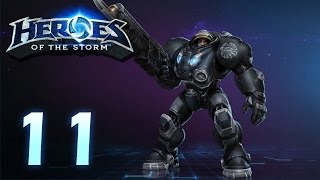 Heroes of the Storm: Jim Raynor - Gameplay #11 (w/ 4 man team)