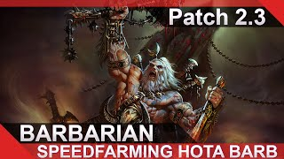 2.3 SpeedFarming Barb Guide / Diablo 3 Reaper of Souls